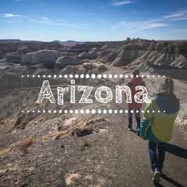 Family travel Arizona with kids