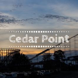 Family travel Cedar Point with kids