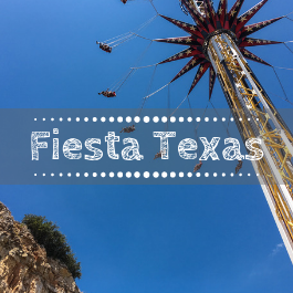 Family Travel Six Flags Fiesta Texas with kids