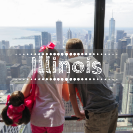 Family travel Illinois with kids