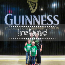 Family travel Ireland with kids