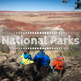 Family travel National Parks with kids