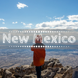 Family travel New Mexico with kids