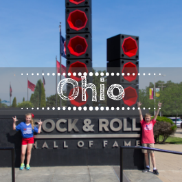Family travel Ohio with kids