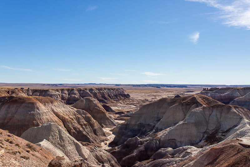 Blue Mesa at Petrified Forest National Park