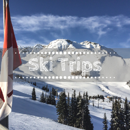 Family travel ski trips with kids