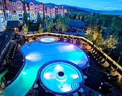 Families can stay at the Steamboat Grand Hotel