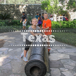 Family travel Texas with kids