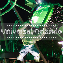 Family travel Universal Orlando Resort with kids