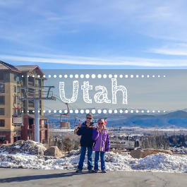 Family travel Utah with kids