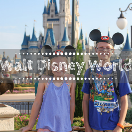 Family Travel Walt Disney World Resort with kids