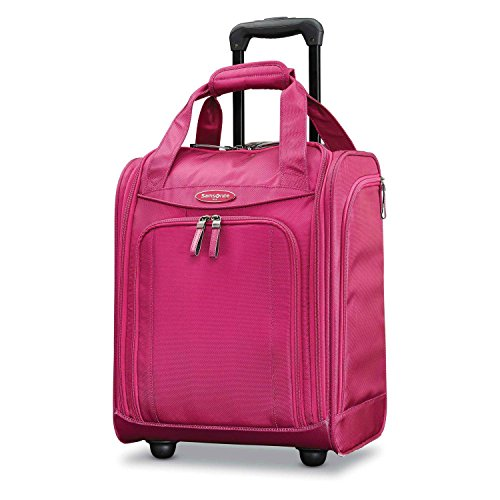 Samsonite carry on luggage underseat spinner
