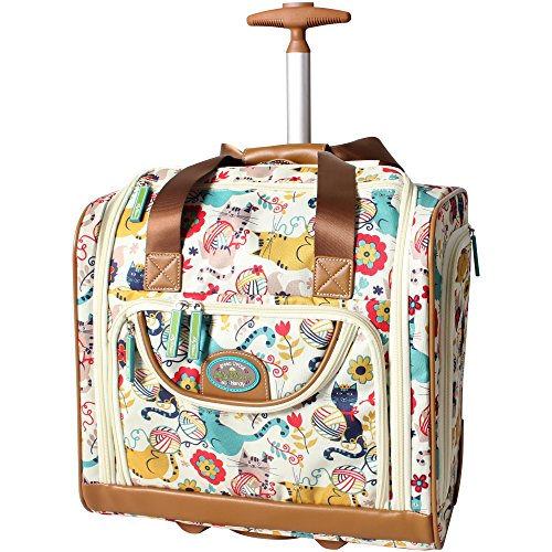 Lily Bloom lightweight carry on luggage