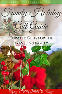 Family Holiday Gift Guide - family travel