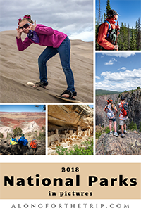 2018 National Parks with kids