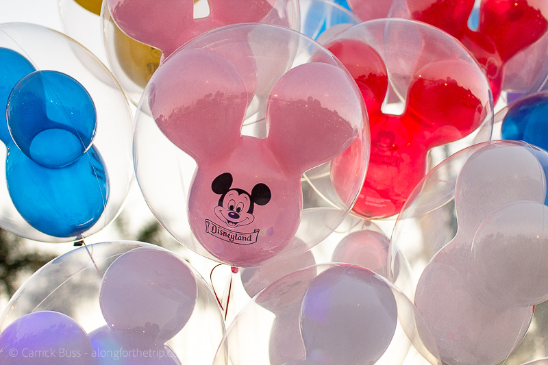 Balloons at Disney California Adventure