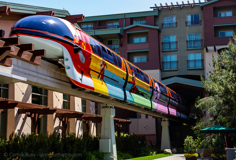 Disneyland Resort Monorail at the Grand Californian