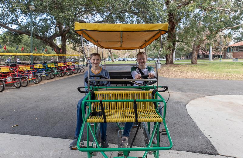 Surrey bikes in Irvine Regional Park - things to do in Irvine