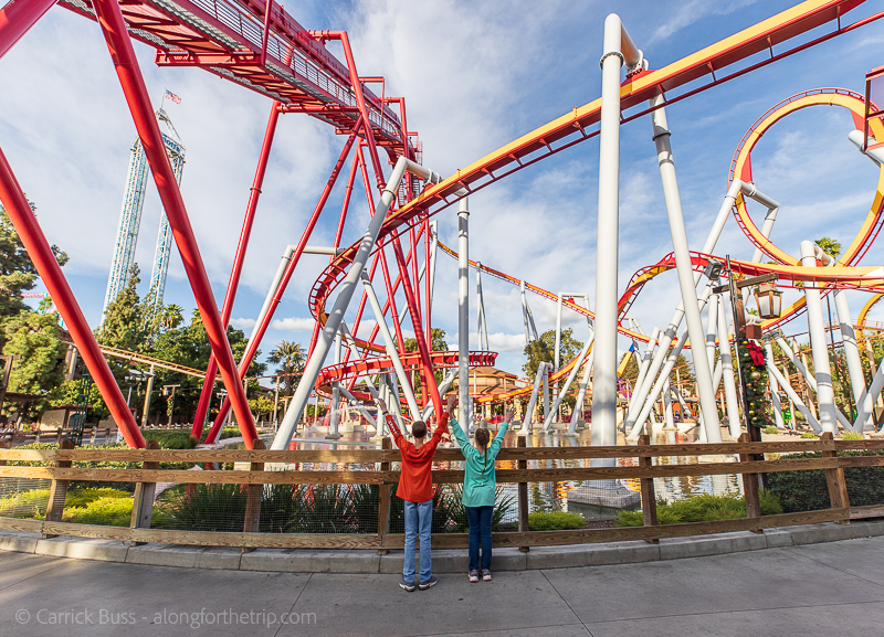 Knotts Berry Farm - things to do in California with kids