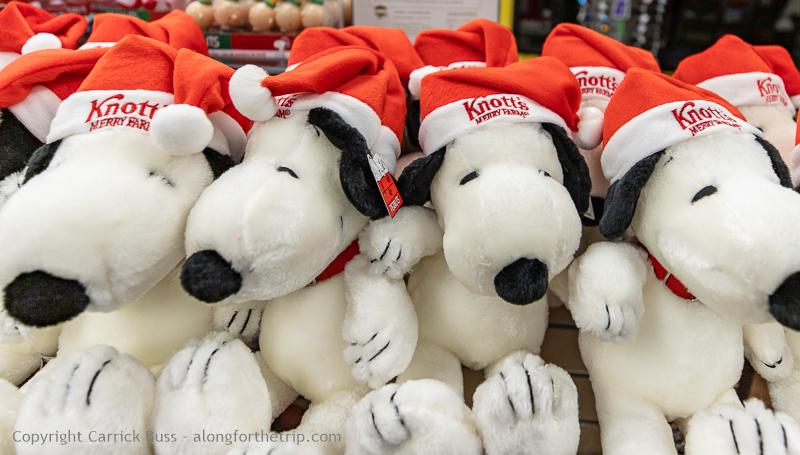 Knott's Merry Farm Snoopy