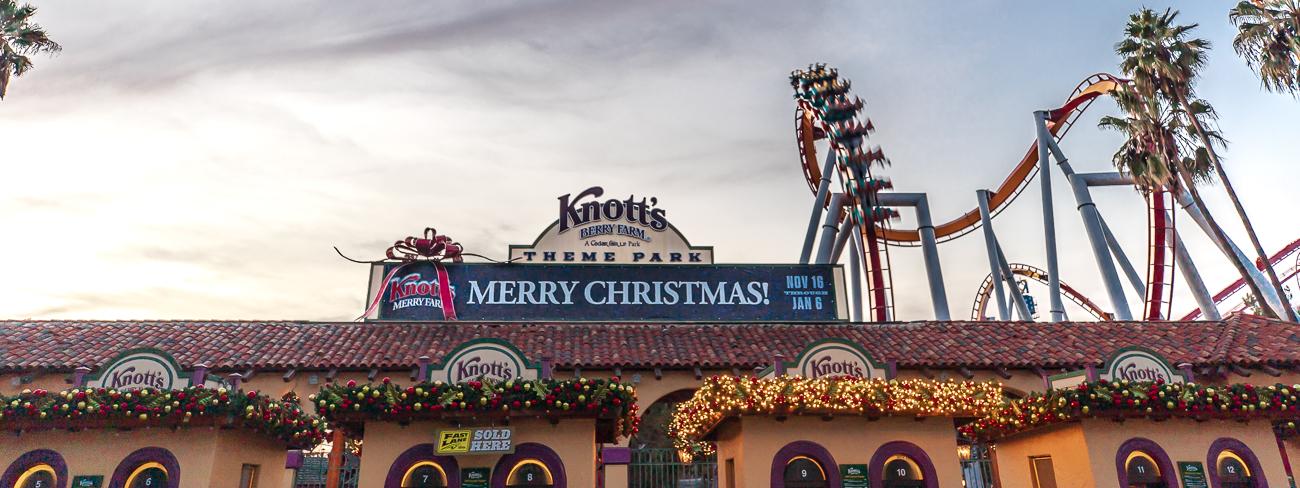 Knott's Merry Farm – A Very Merry California Christmas