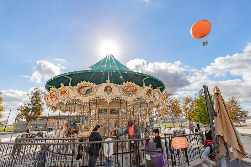 Great Park Carousel - places to visit in Irvine