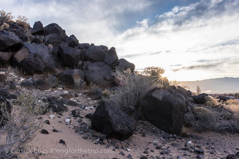Petroglyph National Monument Albuquerque Sunrise
