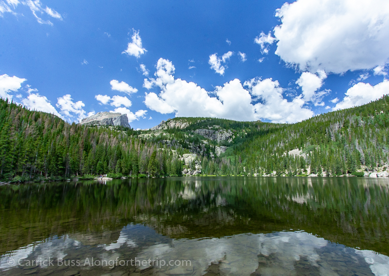 Emerald Lake in Rocky Mountain National Park