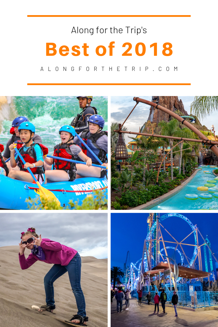 From theme parks to National Parks, 2018 was a great year of travel for us. Come Along for the Trip as we show your our favorite cities, food, and adventures from 2018. | #familytravel