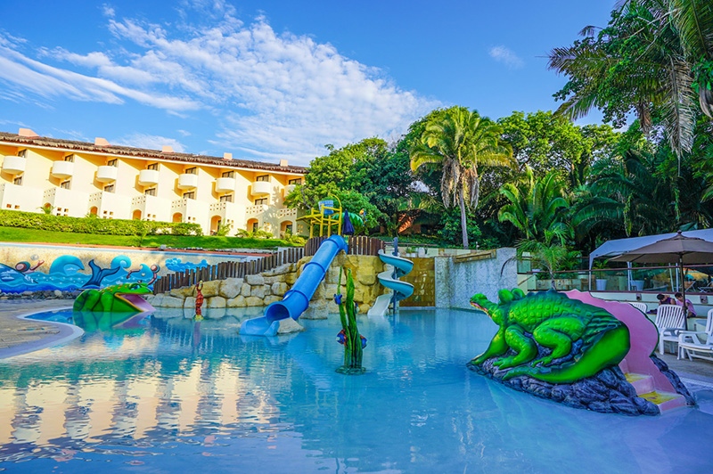 Grand Palladium Vallarta kid friendly all inclusive resorts in Mexico