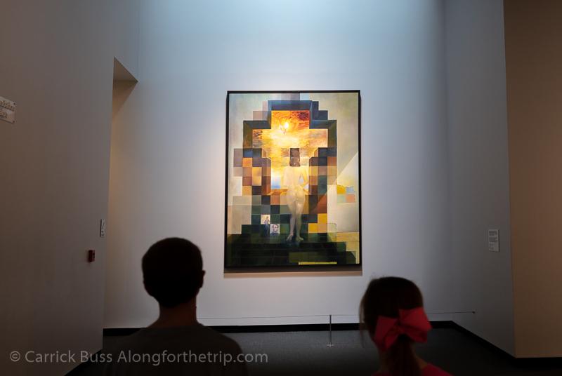 The Dali Museum Abraham Lincoln