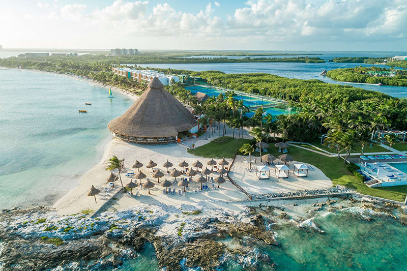 Club Med Yucatan top family resorts in Mexico