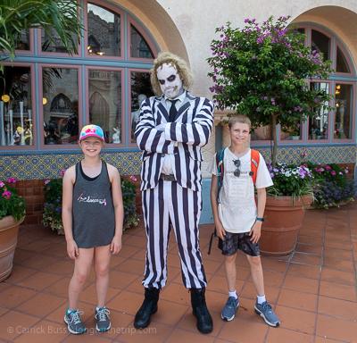 Bettlejuice at Universal park Orlando