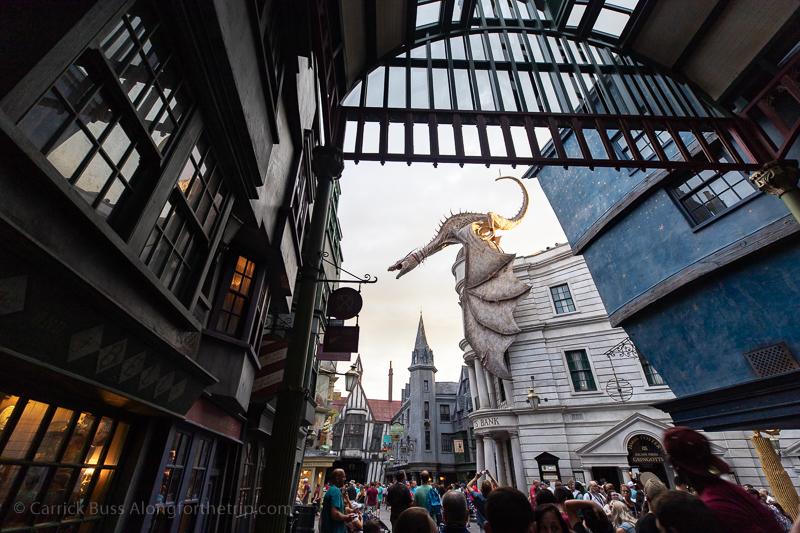 Universal Studios Wizarding World of Harry Potter Diagon Alley