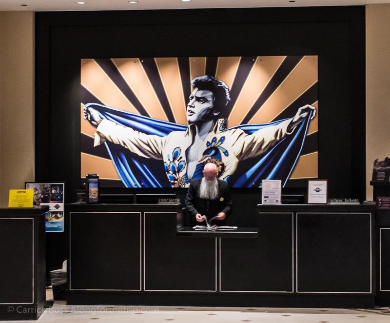Universal Studios hotels - Hard Rock Hotel Orlando front lobby