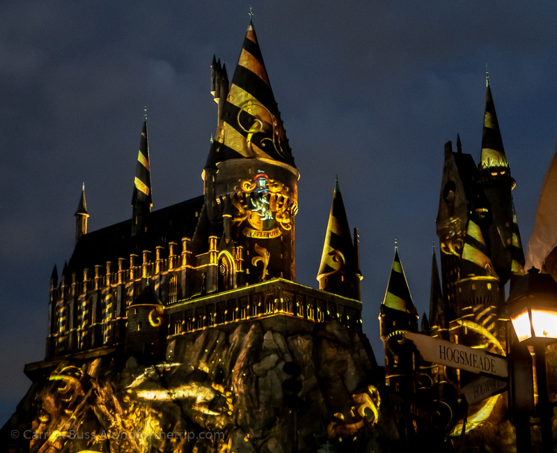 Universal Studios Harry Potter ride - Harry Potter and the Forbidden Journey