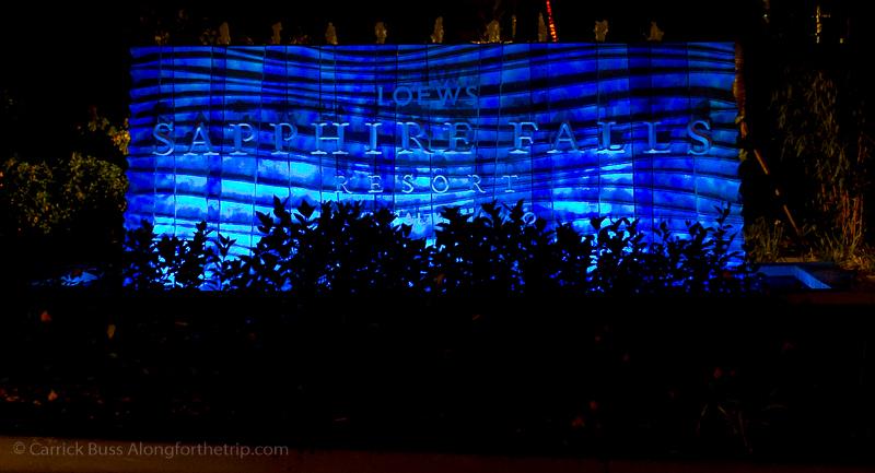 Loews Sapphire Falls - Universal Studios travel tips