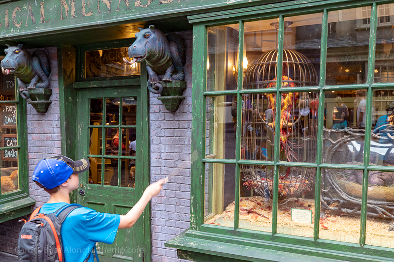 Casting spells in Harry Potter World - Universal Studios Florida tips