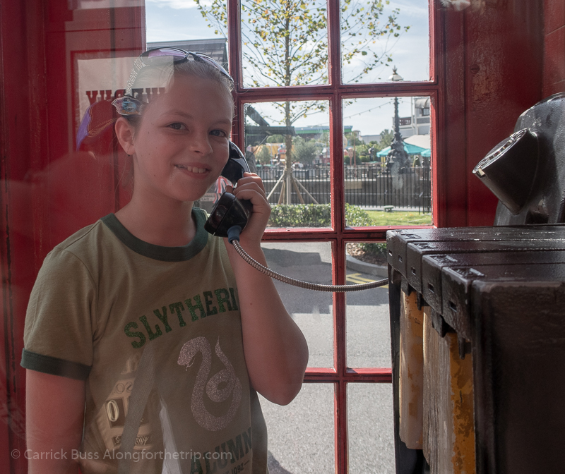 visiting Universal Orlando - talk to the Ministry of Magic