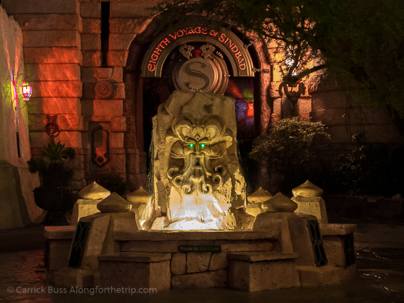 Chat with the Mystic Fountain - Universal Orlando tips and secrets