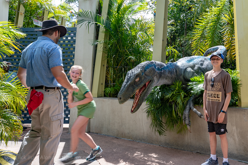 Raptor Encounter - how to get the most out of Universal Studios Orlando