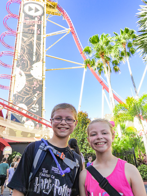 tips for Universal Studios Orlando on Rip Ride Rockit