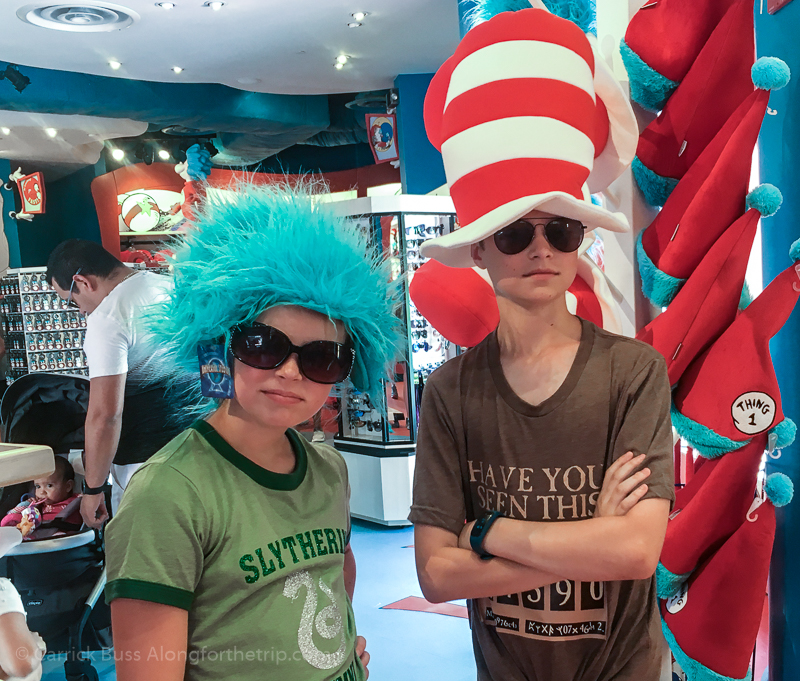 Universal Orlando Seuss' Landing - Universal Orlando reviews and tips