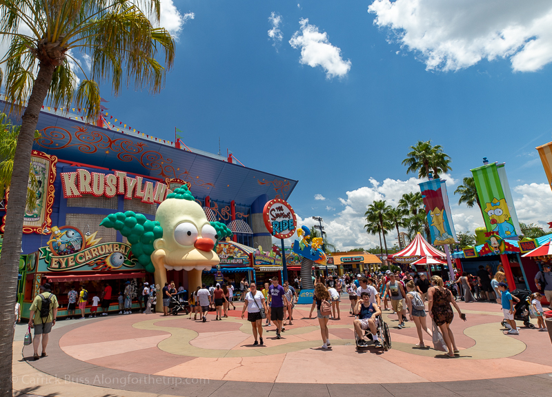 The Simpsons Ride - best way to visit Universal Orlando