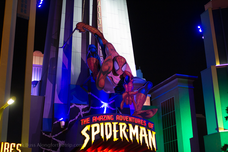 The Amazing Adventures of Spider-Man - Universal Orlando tricks