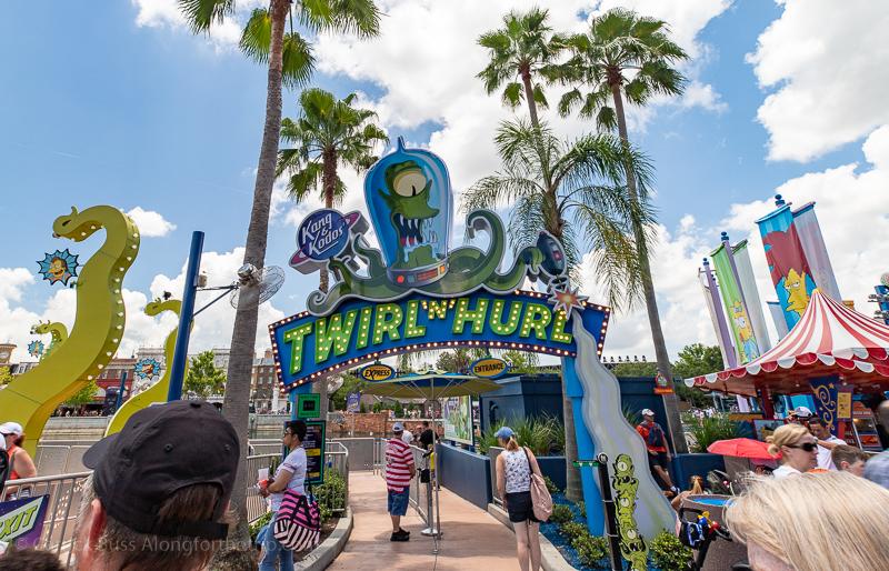 Twirl N Hurl - Universal Studios advice