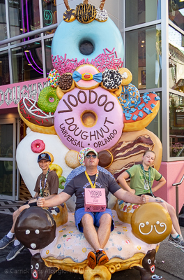 Voodoo Doughnuts - how to do Universal Orlando
