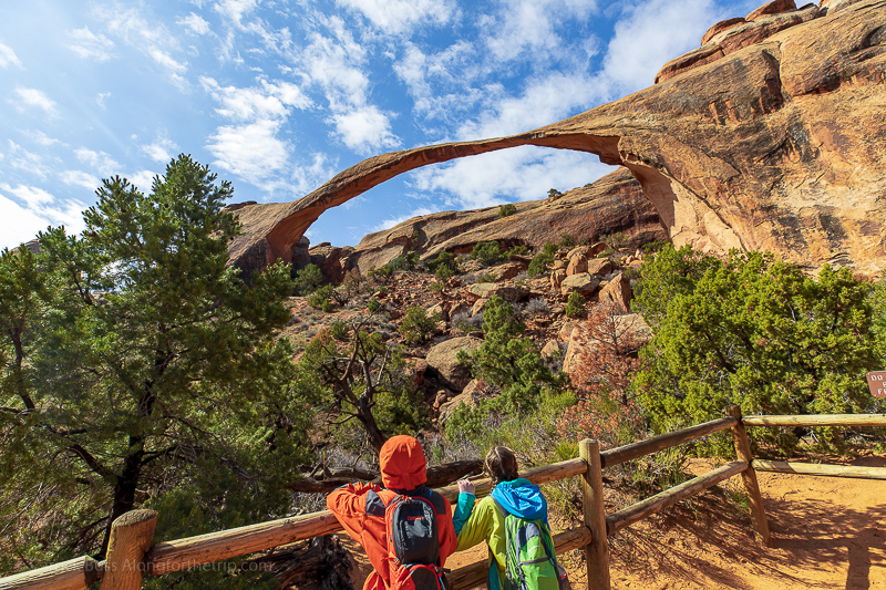 Landscape Arch in Arches National Park near Best Western Canyonlands Inn