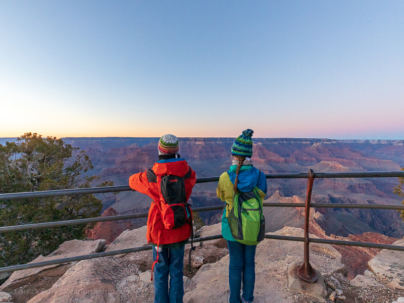 Enjoying Sunset at Grand Canyon National Park with Best Western
