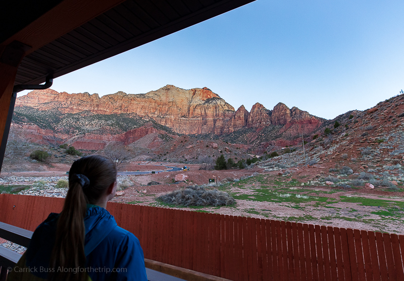 Sunrise at Zion National Park with Best Western